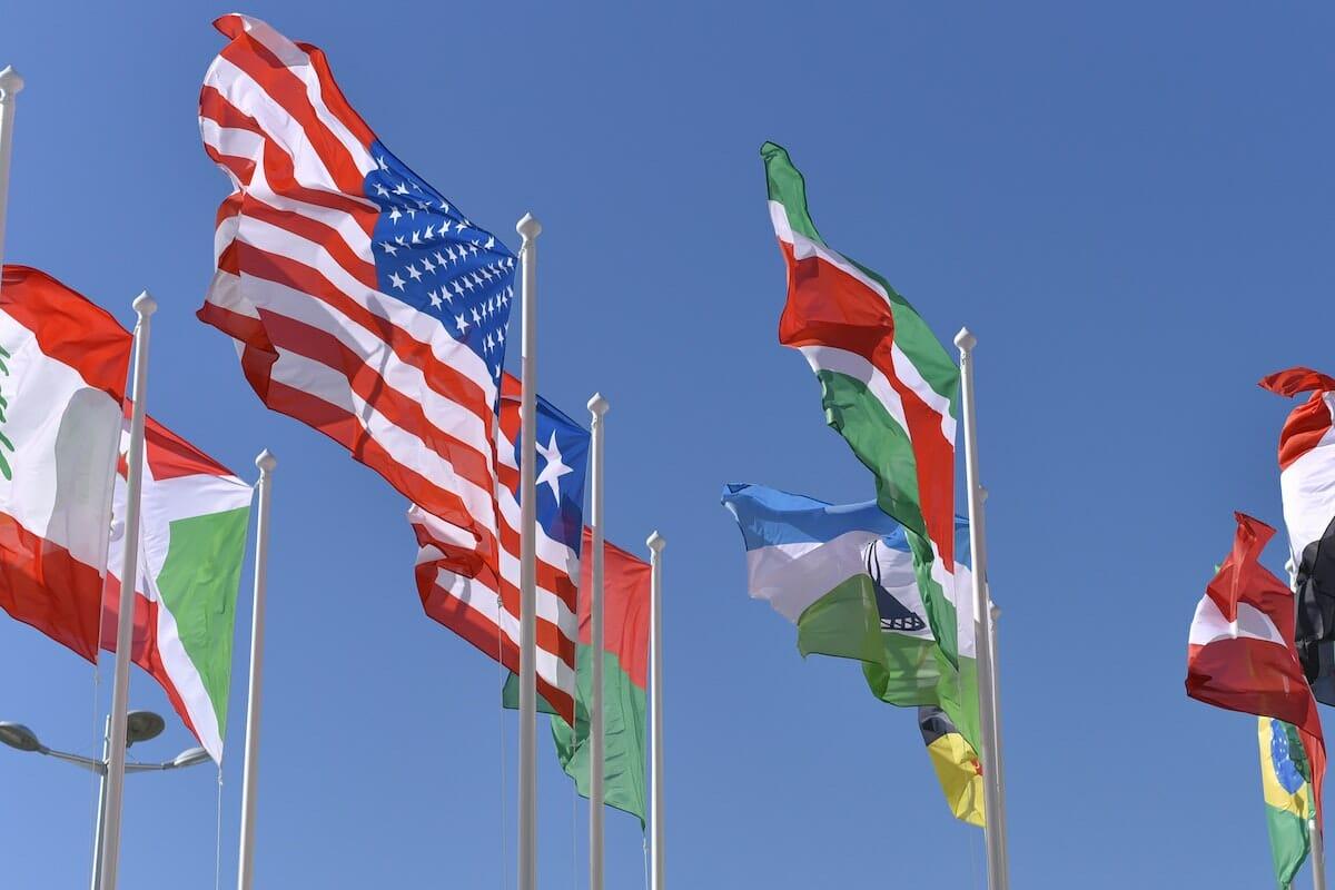 世界の国旗のイメージ画像