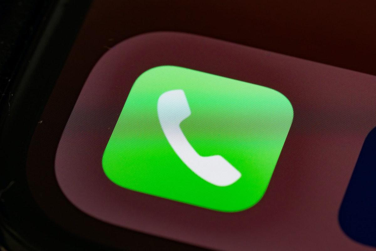 iPhoneの電話アプリ